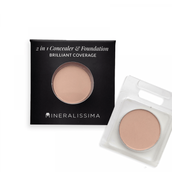 Sample Compact mineral foundation