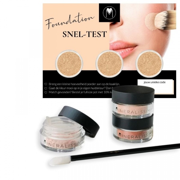 Limited edition - Foundation Quick-Test