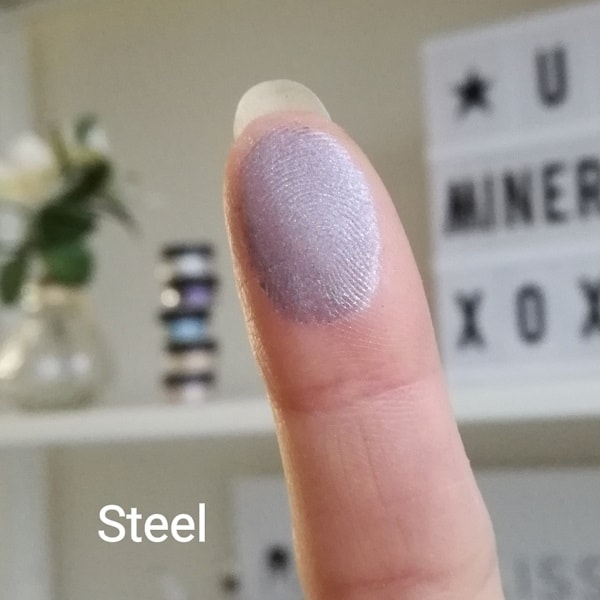 Mineral eyeshadow Steel