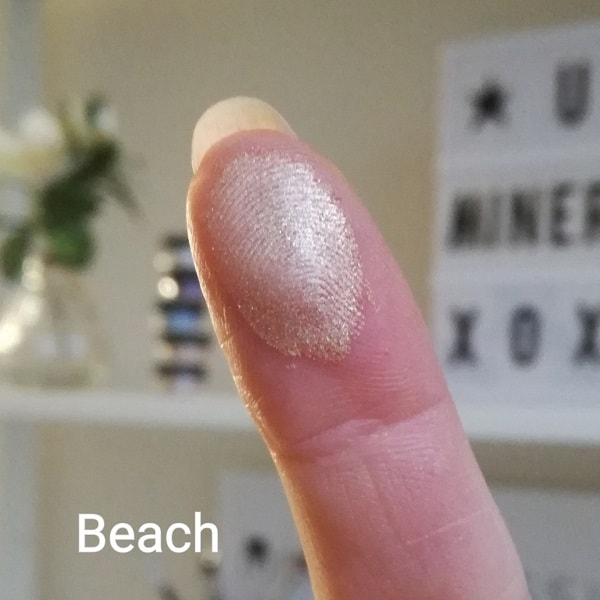 Mineral eyeshadow Beach