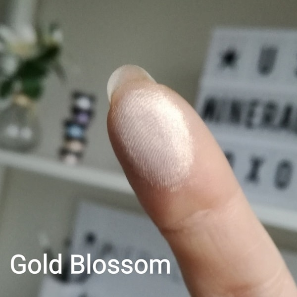 Mineral eyeshadow  Gold Blossom