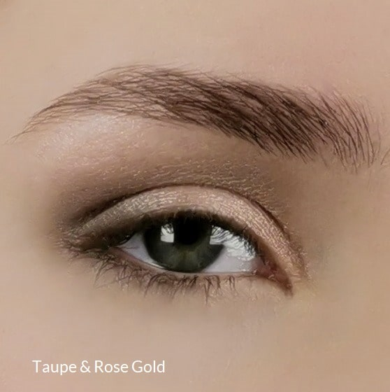 Mineral eyeshadow Rose Gold