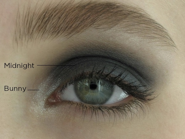 Mineral eyeshadow Midnight